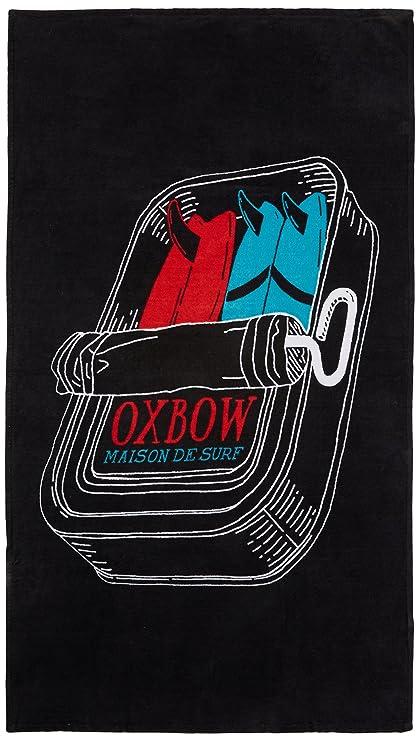 Oxbow J1iquitos - Toalla de Playa para Hombre, Hombre, J1IQUITOS, Negro, U