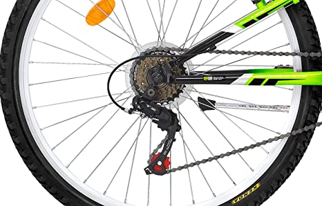 Sprint Mountainbike 26/Zoll PA x MTB Fahrrad Rahmen Vollgefederter Scheibenbremse Shimano 18/Gang 26/ 66/cm