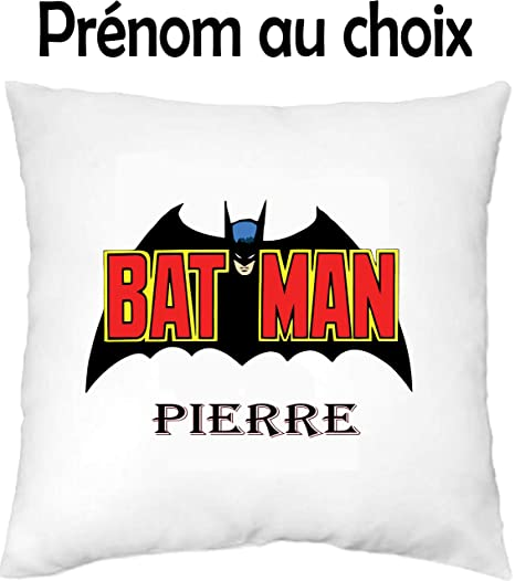 GRAVOPHOTO - Funda de cojín niños Personalizada Batman ...