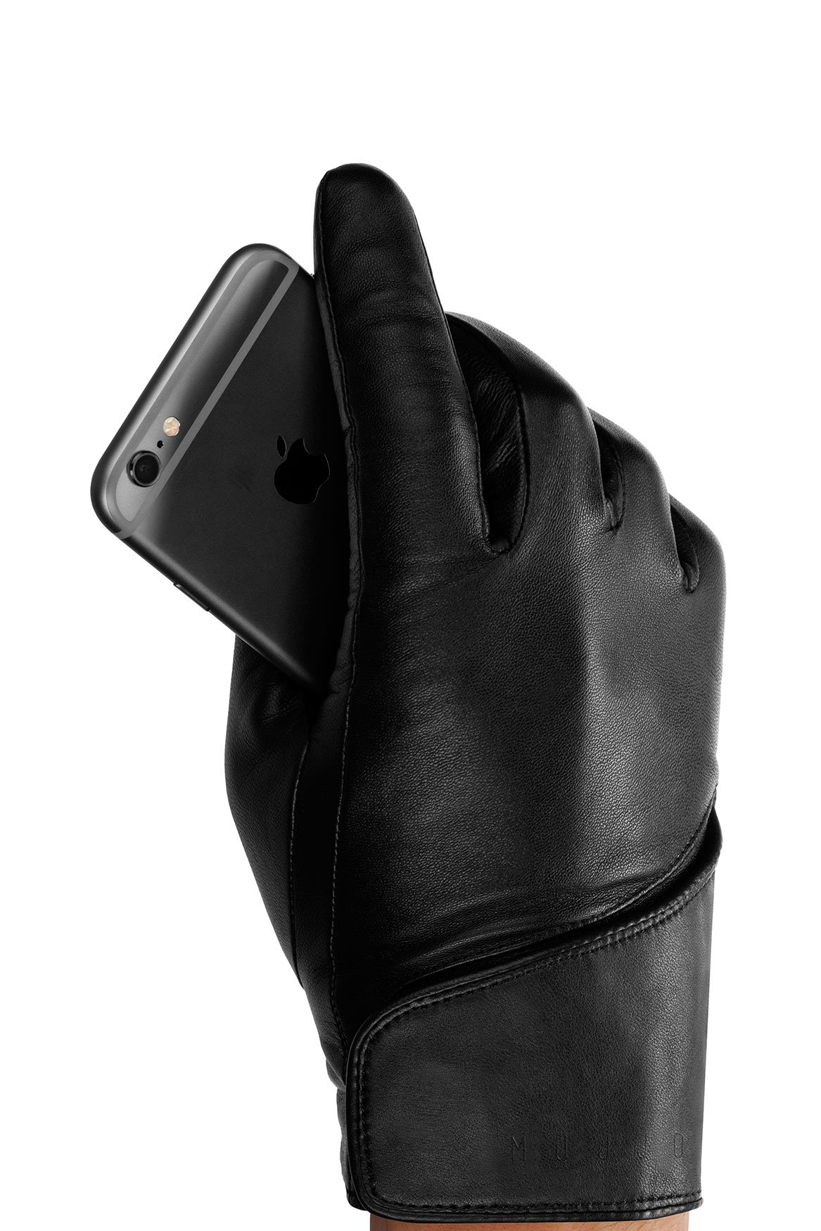Mujjo Leather Touchscreen Gloves (8)