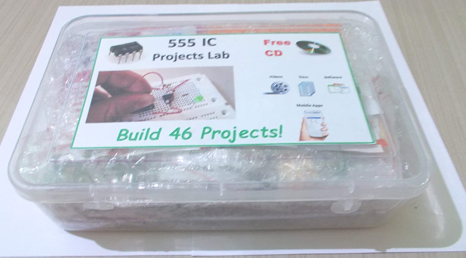 555 Timer Ic Projects Lab 46 Electronic Hobby School College Rain Alarm Project And Circuit Diagram Using Academic Epk040 Industrial Scientific