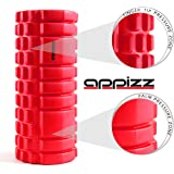 Appizz Muscle Foam Roller for Self-Massage to Release Muscle Tightness or Trigger Points, 13 x 5.5-Inch