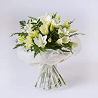 REGALAUNAFLOR-Ramo de lilium blanco-FLORES NATURALES-ENVIOS EN 24 HORAS DE MARTES A SABADO.
