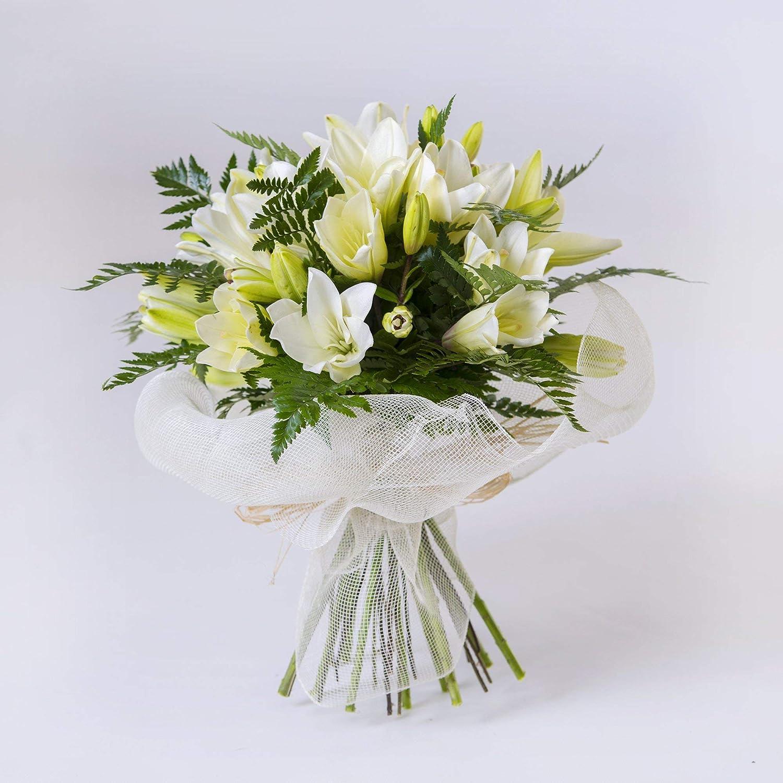 Ramo de Lilium Blanco (naturales, entrega en 24h)