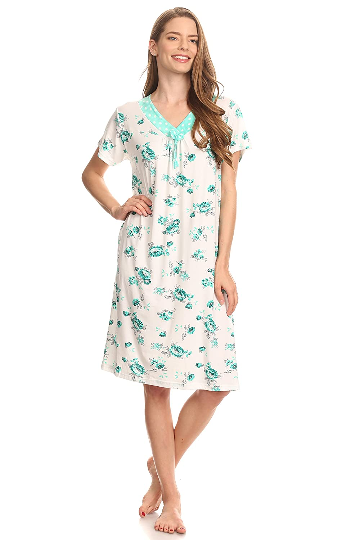 71f7773ff6 801 Women Night Gowns Sleep Shirts Pajamas at Amazon Women's Clothing store: