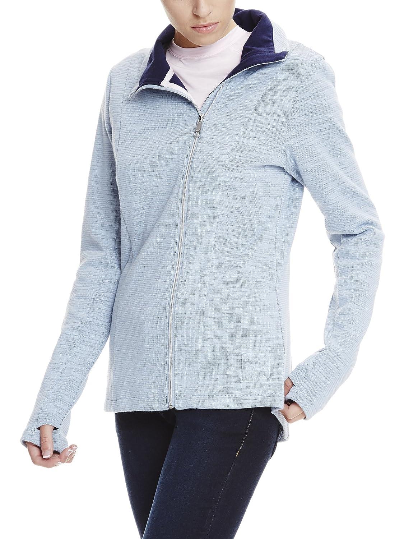 Amazon Zip Cardigan it Jacket Donna Bench Abbigliamento Long wfHFzqzU