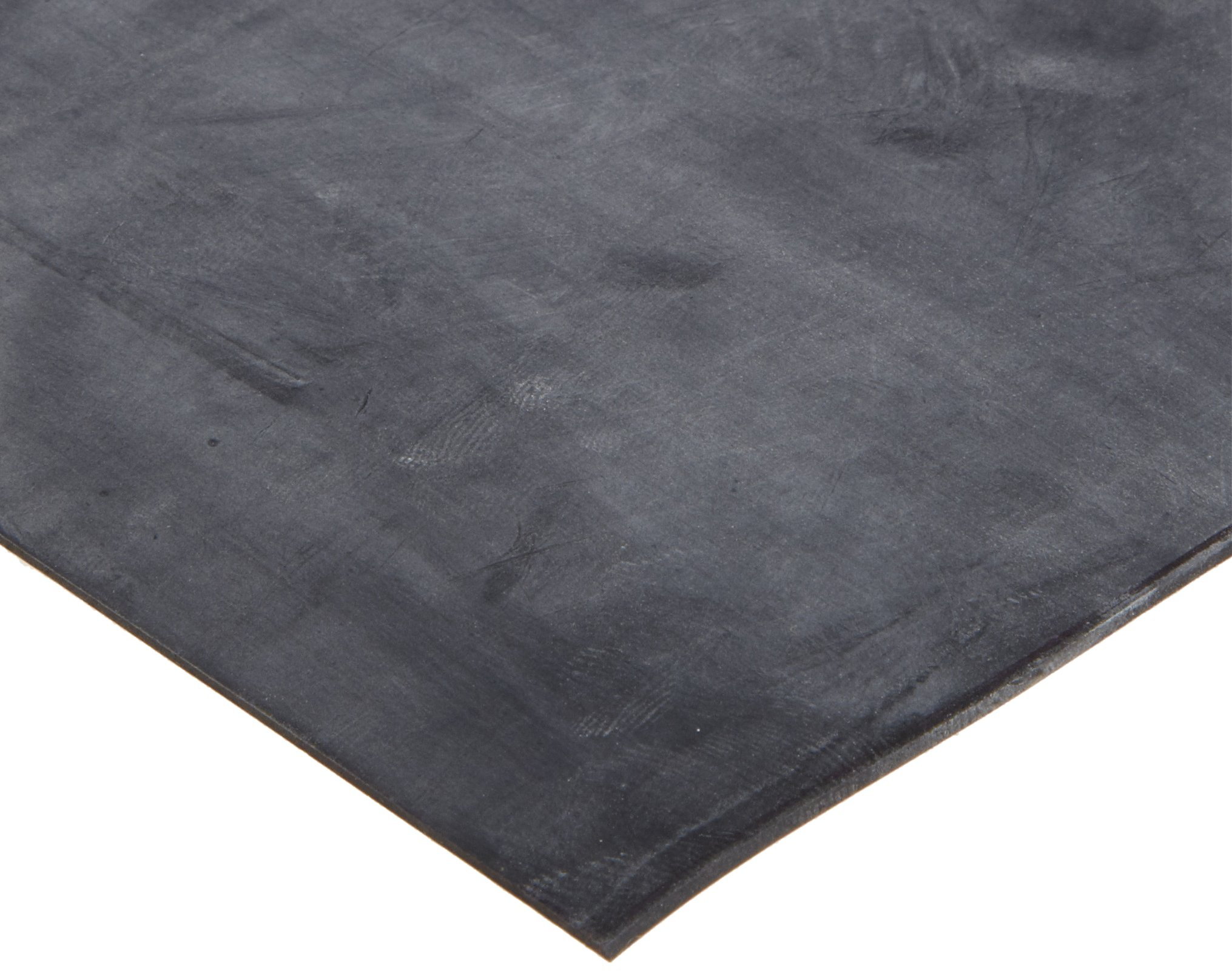 Neoprene Sheet Gasket, Black, 1/8'' Thick, 12'' × 12'' (Pack of 1) by Small Parts