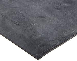 Neoprene Sheet Gasket, Black, 1/8