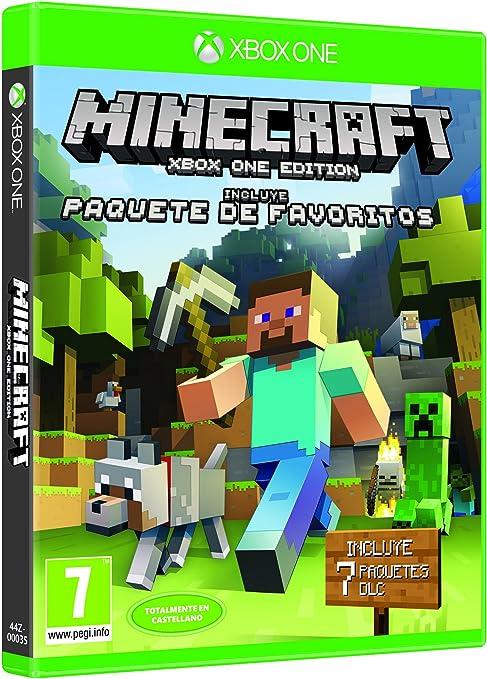Minecraft - Edición Pack De Favoritos, Xbox One, Disco, Versión 30 ...