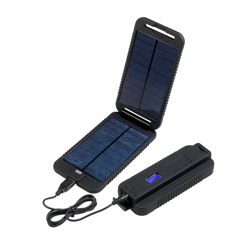 Powertraveller 5V und 12V Tragbares Solar Ladegerät Powermonkey Extreme