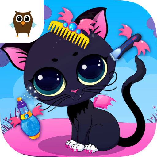Pet Witch - Little Witches Magic Makeover - Spa Charms, House Cleanup & Pet Salon