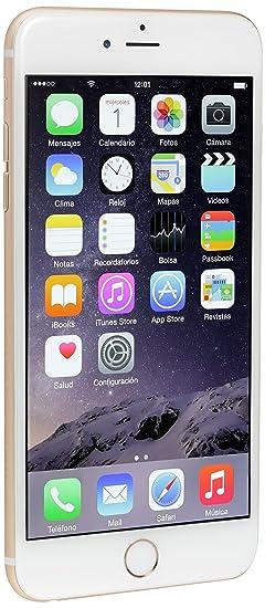 b503da18500 Apple iPhone 6 Plus 64 GB, Oro: Amazon.com.mx: Electrónicos