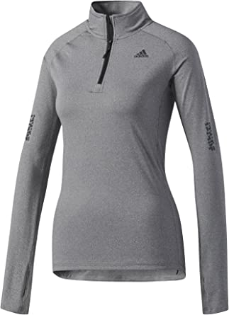 adidas Sn 1/2 Zip W Camiseta, Mujer: Amazon.es: Deportes y aire libre