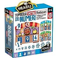 Headu Tombola Tattile Montessori dei Numeri, IT20249