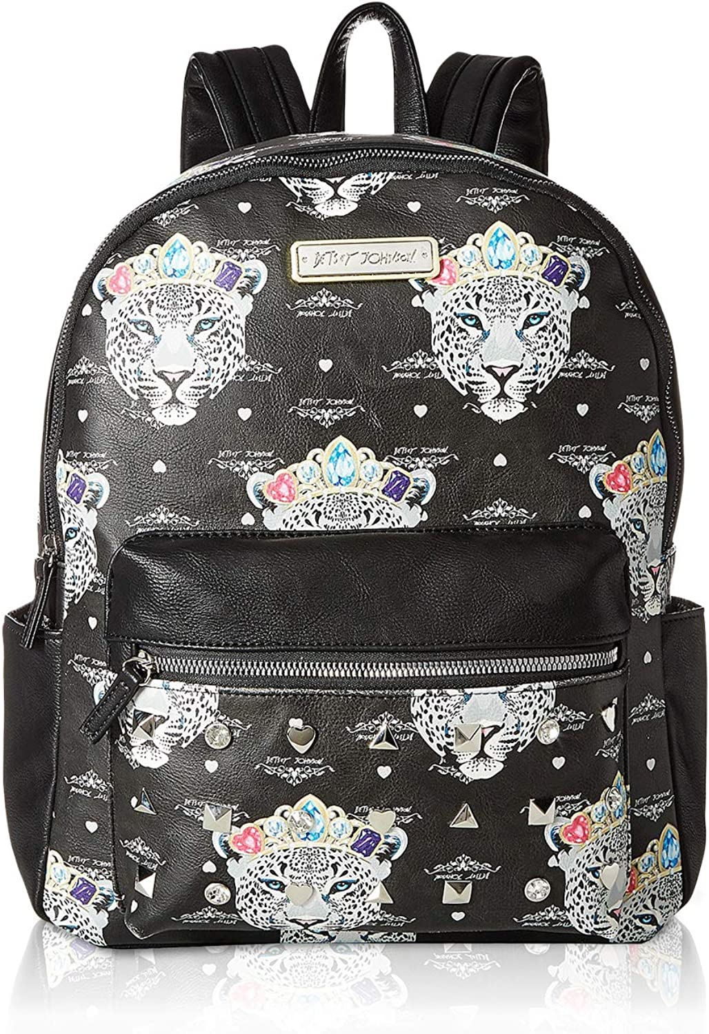 Betsey Johnson Women s Snow Queen of the Jungle Print Backpack