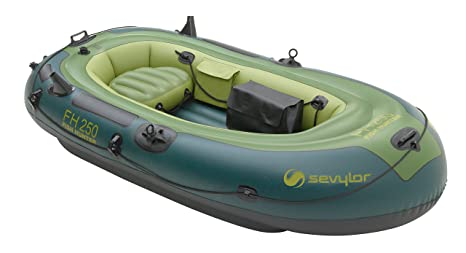 SEVYLOR Fish Hunter FH250 - Bote Inflable - Verde 2014: Amazon.es ...