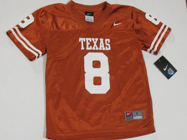 best service fe090 e535a Texas Longhorns Kids Replica Nike Football Jersey:4, Jerseys ...