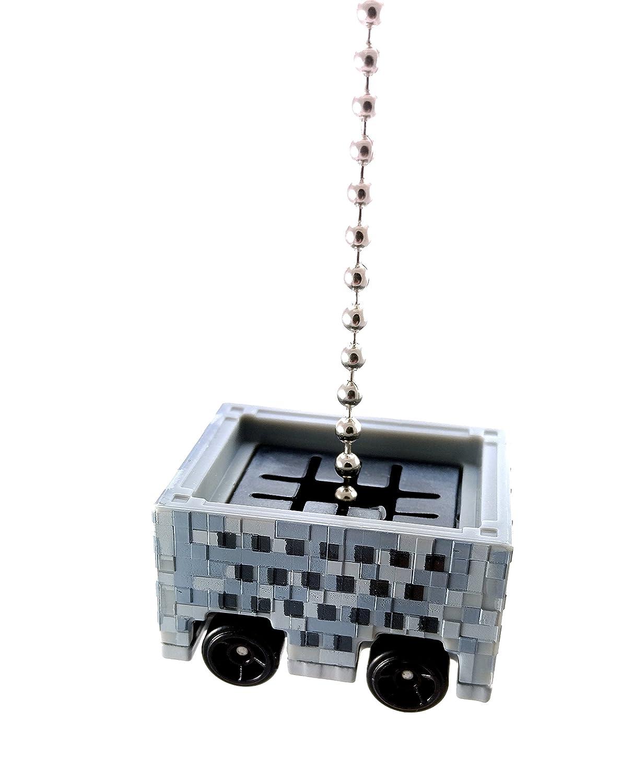 Ventilador de techo de fundición de vagoneta Minecraft & luz ...