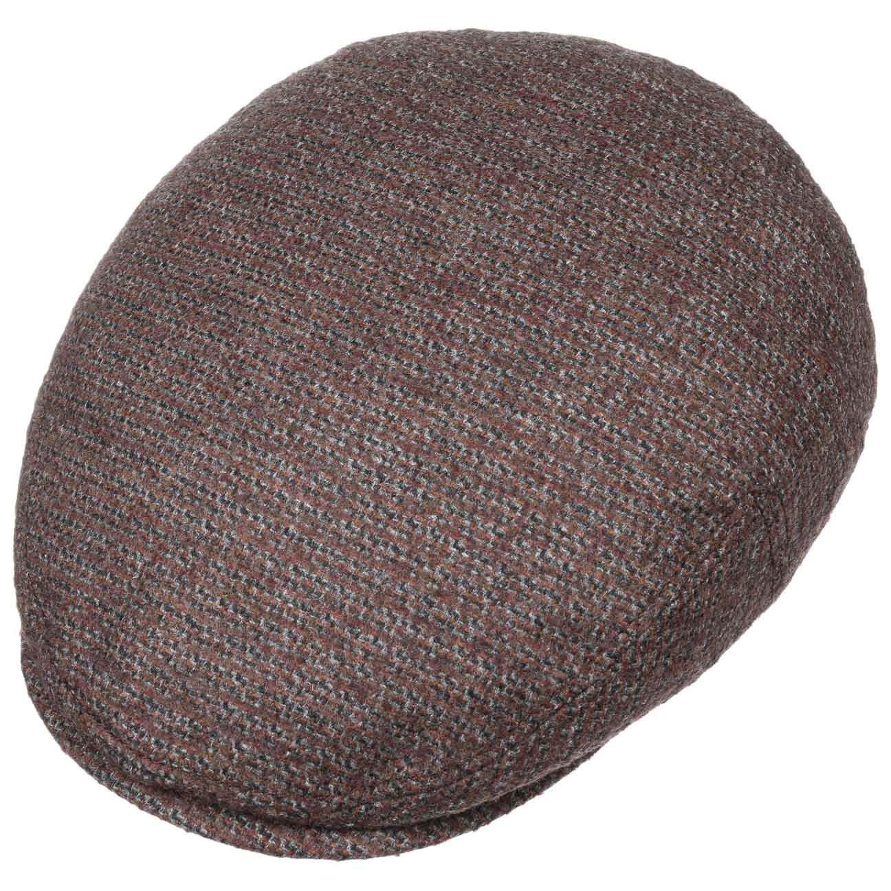 Made in Germany Stetson Kent Cerruti Flat Cap with Cashmere Men