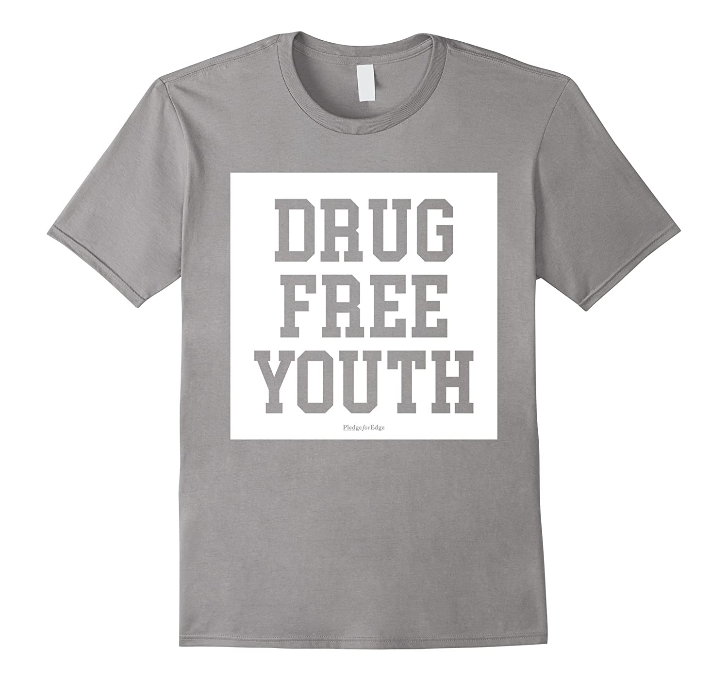 Drug-Free Youth Straight-Edge Movement Positive Tee-Shirt-FL