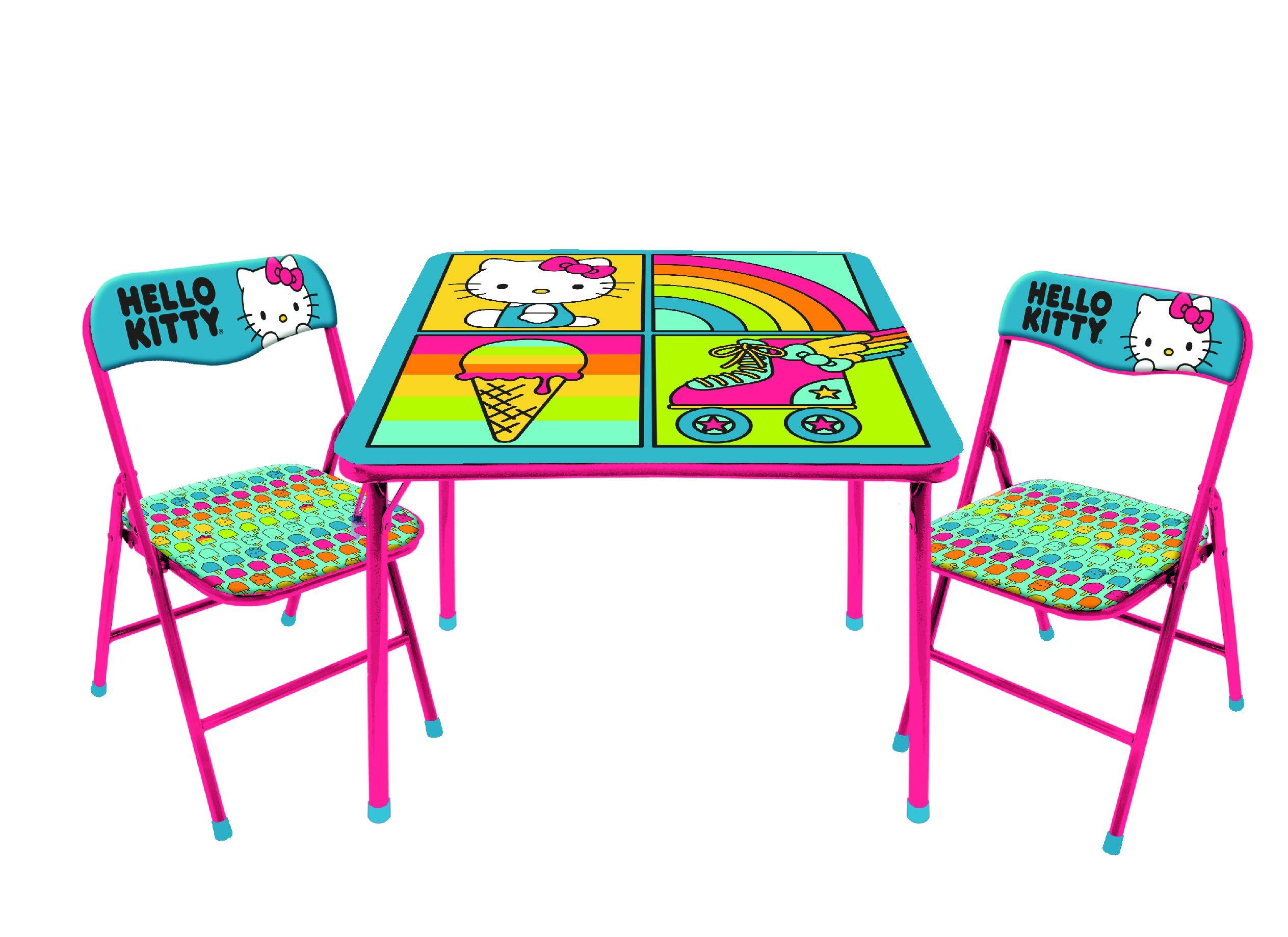 SANRIO Hello Kitty 3Piece Table & Chair Set by SANRIO