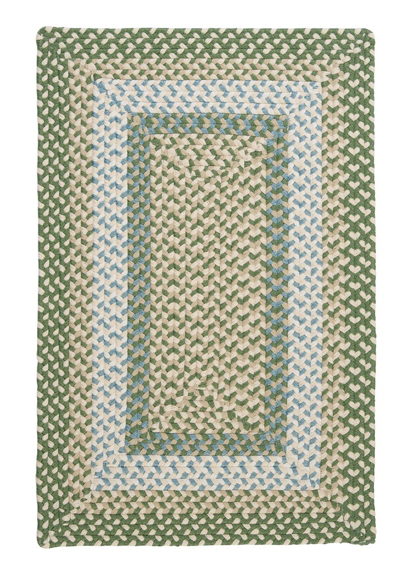 Colonial Mills MG19 Montego Area Rug, 4×6-Feet, Lily Pad Green
