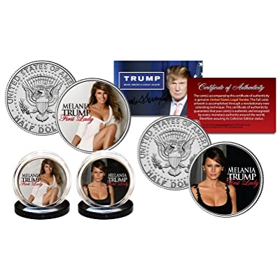 MELANIA TRUMP First Lady 2016 Presidential Election OFFICIAL JFK U.S. 2-Coin Set: Everything Else