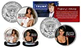 MELANIA TRUMP First Lady 2016 Presidential Election OFFICIAL JFK U.S. 2-Coin Set