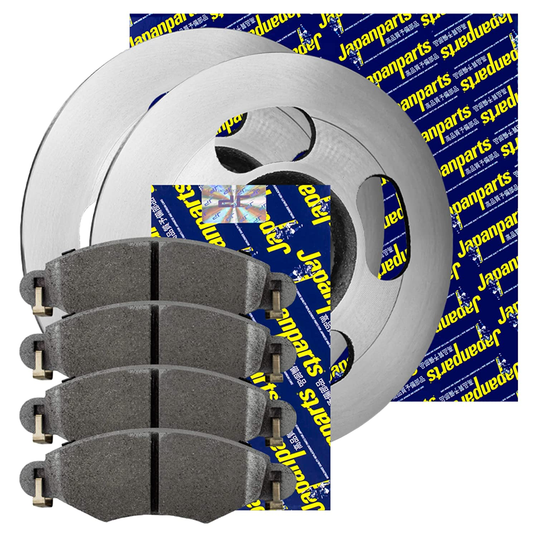 Japanparts Bremsscheiben /Ø280Mm Bremsbel/äge Set Vorne