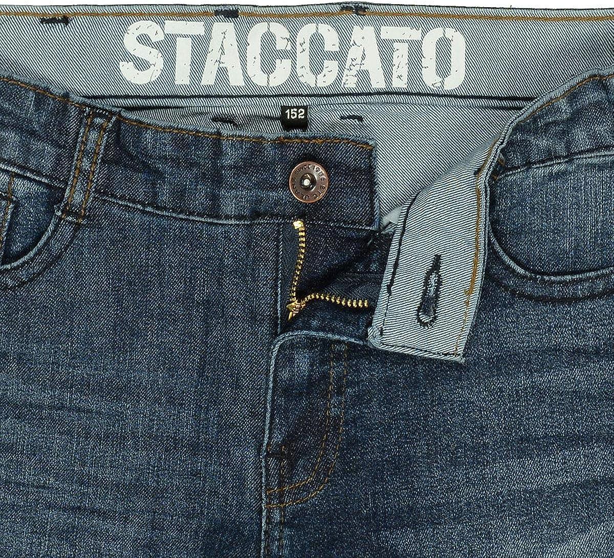 Blue Denim Ben Staccato Jungen Skinny Jeans Regular Fit