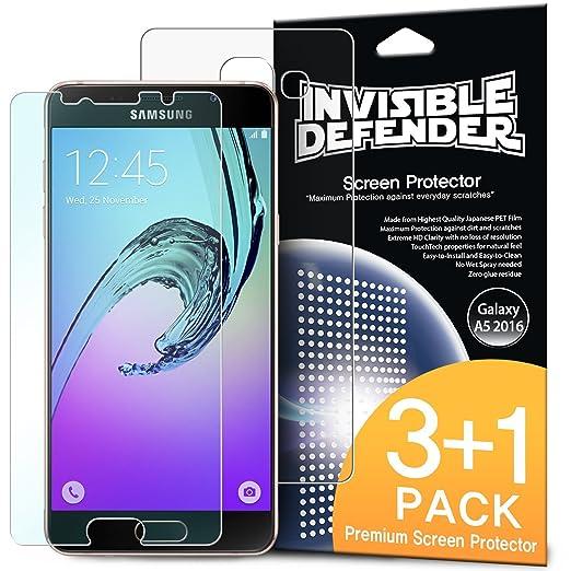 23 opinioni per Pellicola Protettiva dello Schermo Galaxy A5 2016- Invisible Defender [3