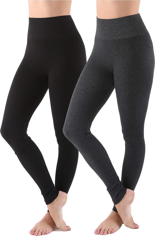 AEKO Ombre Workout Capri Leggings Active Yoga Running Pants for Women