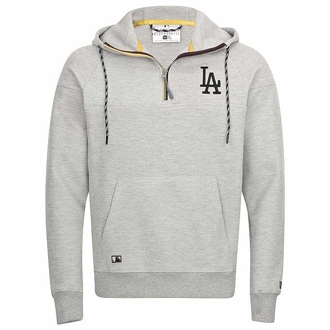 Sudadera capucha New Era – MLB Tech Series Hz Hoody Los Angeles Dodgers gris talla: