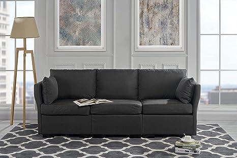 Amazon.com: Sofá tapizado de 84,2