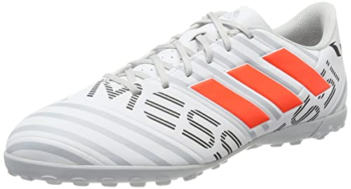adidas Nemeziz Messi 17.4 TF, Zapatillas de Fútbol para Hombre, (FTWR White/Solar Orange/Clear Grey), 44 2/3 EU: Amazon.es: Zapatos y complementos