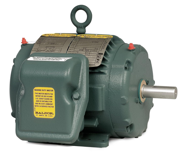 BALDOR ENCP83580T-4 IEEE 841 Three Phase, Totally Enclosed, 460Volts Severe Duty Motor, 1 hp, 3450 RPM, 3PH, 60 Hz, 143T, 0520M, TENV, F1, 460V, Steel
