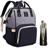 Amazon.com: Bolsa de pañales para mamá, unisex, bolsa de ...