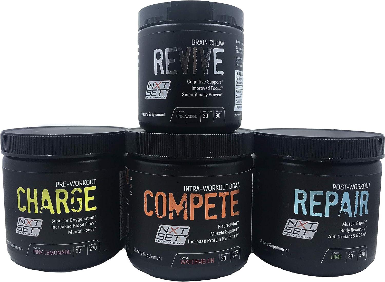 Pre-Workout Intra-Workout Post-Workout Cognitive Enhancer Supplement Mix