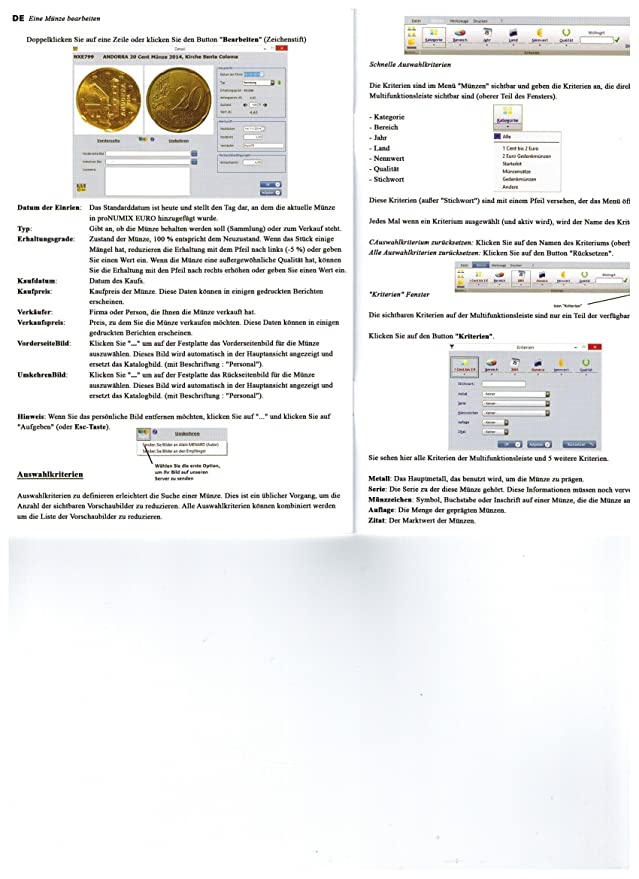 Safe Pro Numix Euro 2017 Münzen Software Euro Münzkatalog