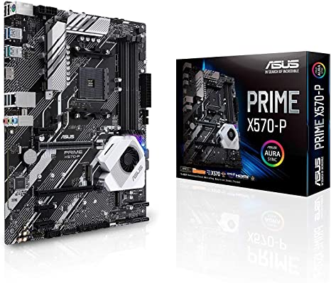 ASUS Prime X570-PRO scheda madre ATX AMD AM4 Ryzen 3000 14 fasi di alimentazione DrMOS PCIe 4.0 M.2 DDR4 Intel LAN HDMI DP SLI CFX SATA USB 3.2 Gen 2 Type-A Type-C Aura Sync RGB