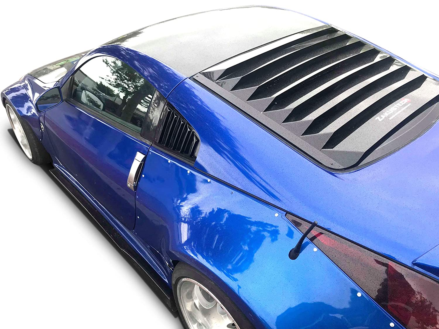Window Louvers Easy Installation KBD Body Kits Compatible with ...