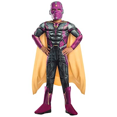 Rubie's Costume Avengers 2 Age of Ultron Child's Deluxe Vision Costume, Small: Toys & Games