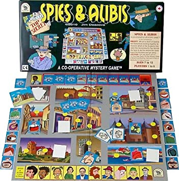 Family Pastimes / Spies & Alibis - A Co-operative Mystery Game