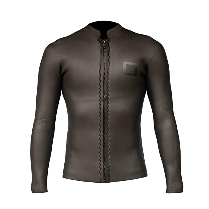 Surf Squared Mens 3mm Neoprene Wetsuit Top Jacket