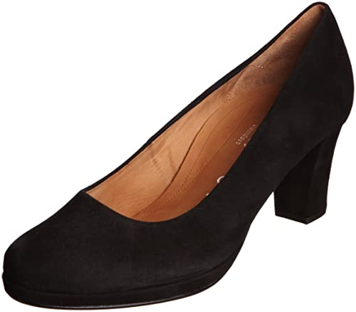 c7c18f50c0 Gabor Womens Ella S Black Platform 72.190.47 4 UK