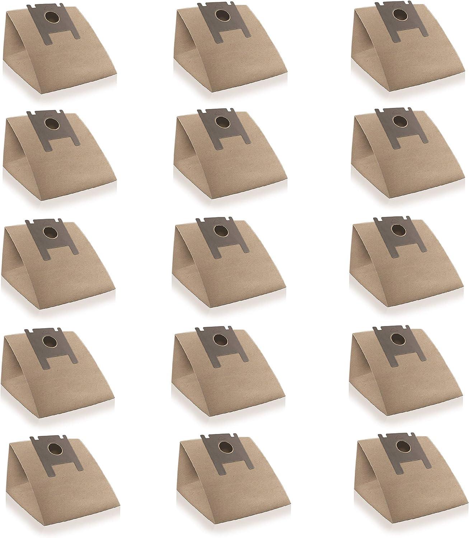 Wessper 15x Bolsas para aspiradora Rowenta RO 320 Artec (Papel ...