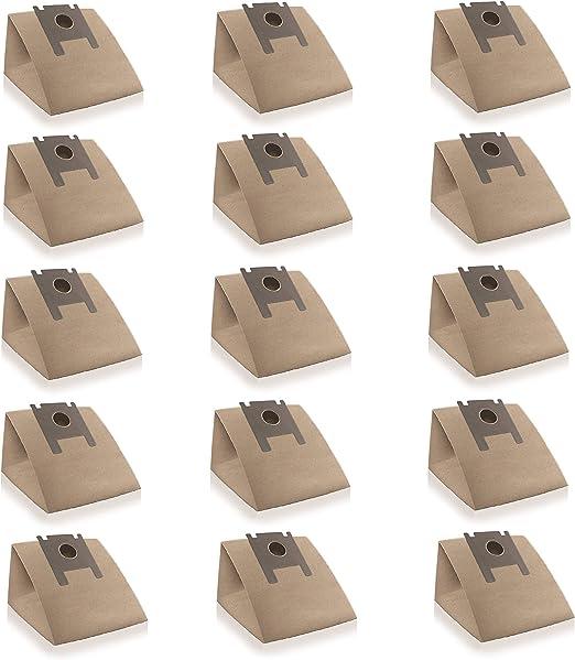 Wessper 15x Bolsas para aspiradora Rowenta RO 330 Artec (Papel): Amazon.es: Hogar