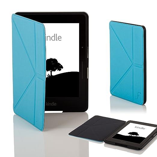 396 opinioni per Forefront Cases® Nuova Custodia Cover Origami per Nuovo Amazon Kindle Voyage