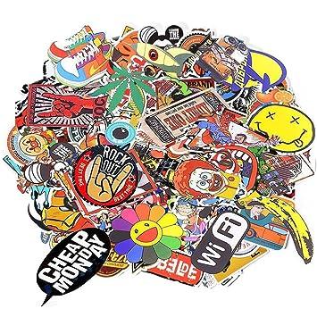Sticker Pack graewe 047.0100 al azar adhesivo vinilos adhesivos para ordenador portátil, niños, coche