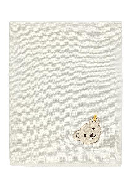 Steiff Decke Strick, Saco de Dormir para Bebés, Blanco (Egret|White 1020) Talla única: Amazon.es: Ropa y accesorios